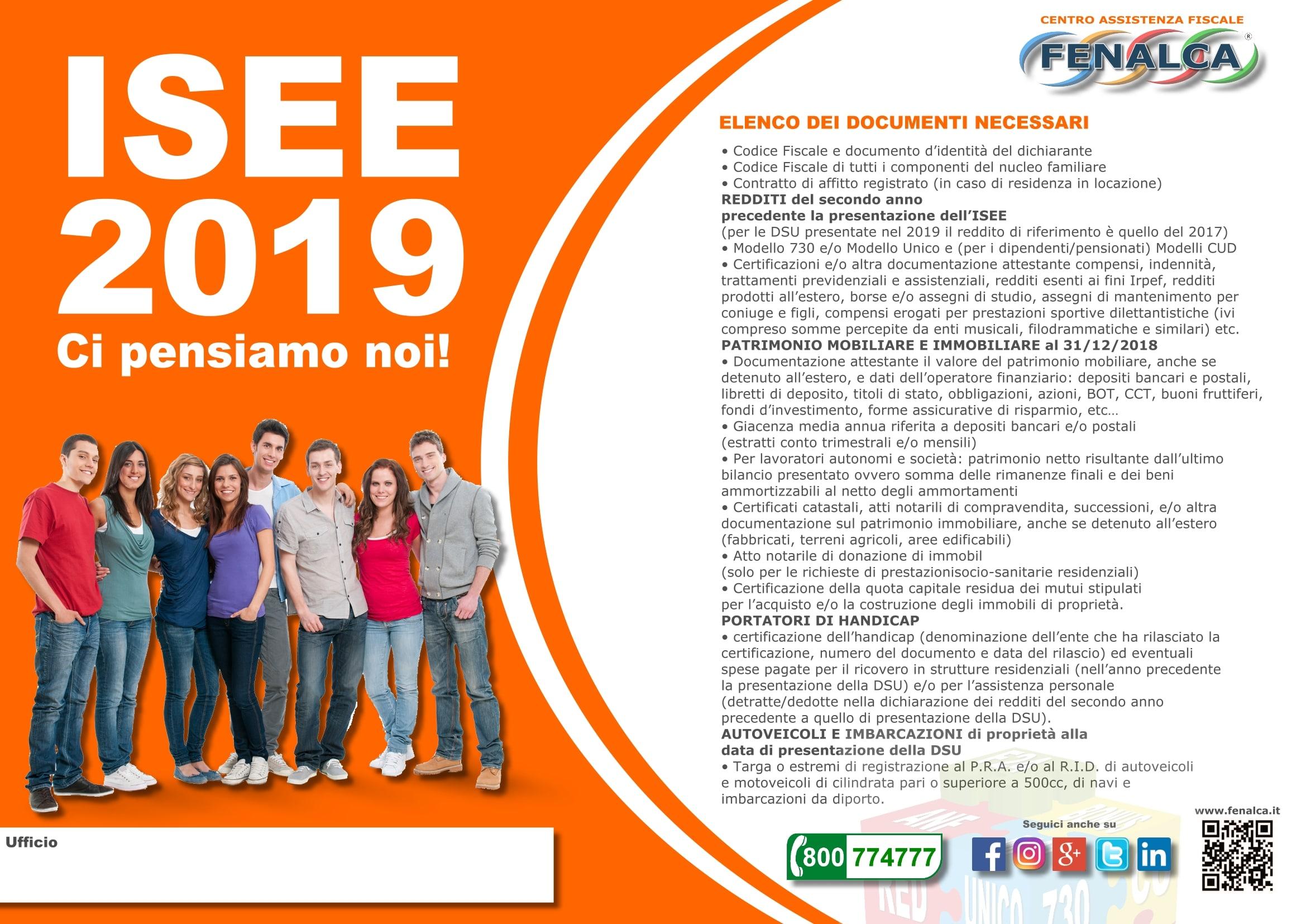 ISEE 2019: ecco tutta la documentazione
