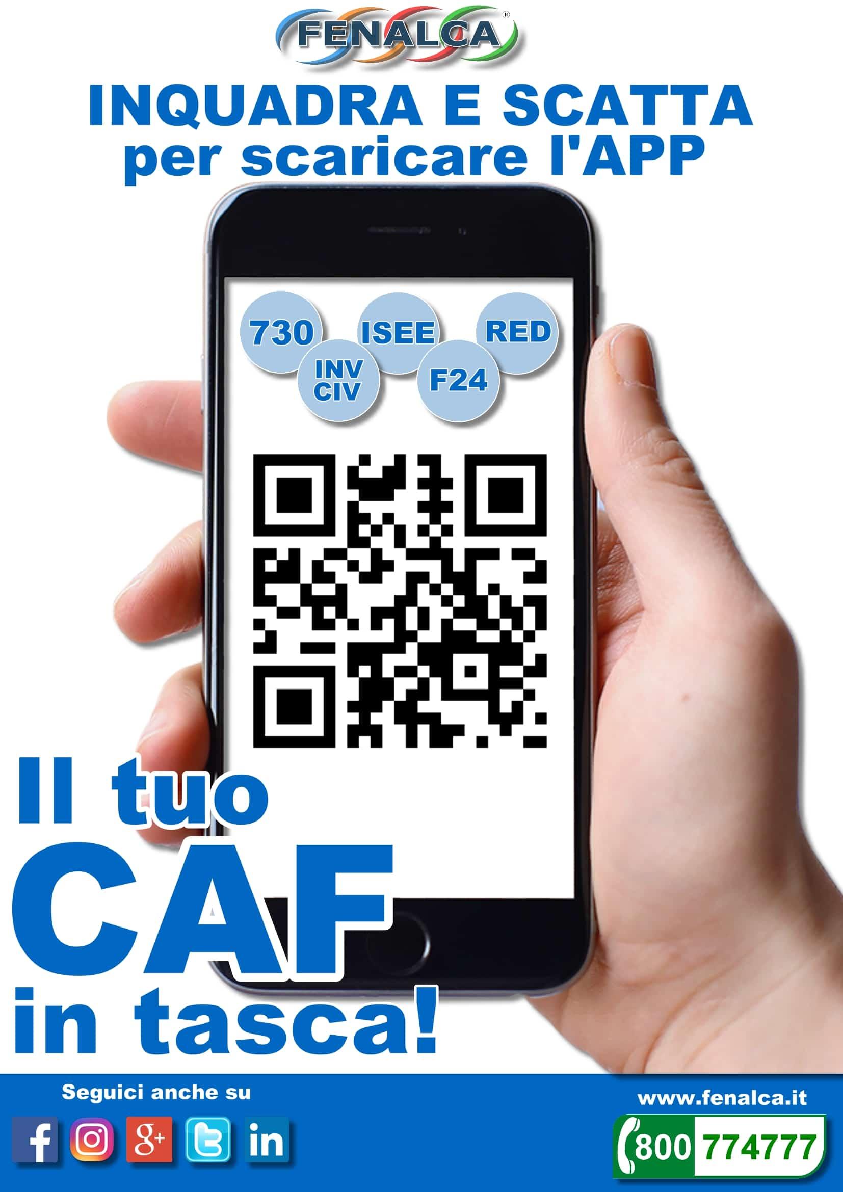 Scarica la Caf Fenalca APP: ecco il tuo CAF digitale