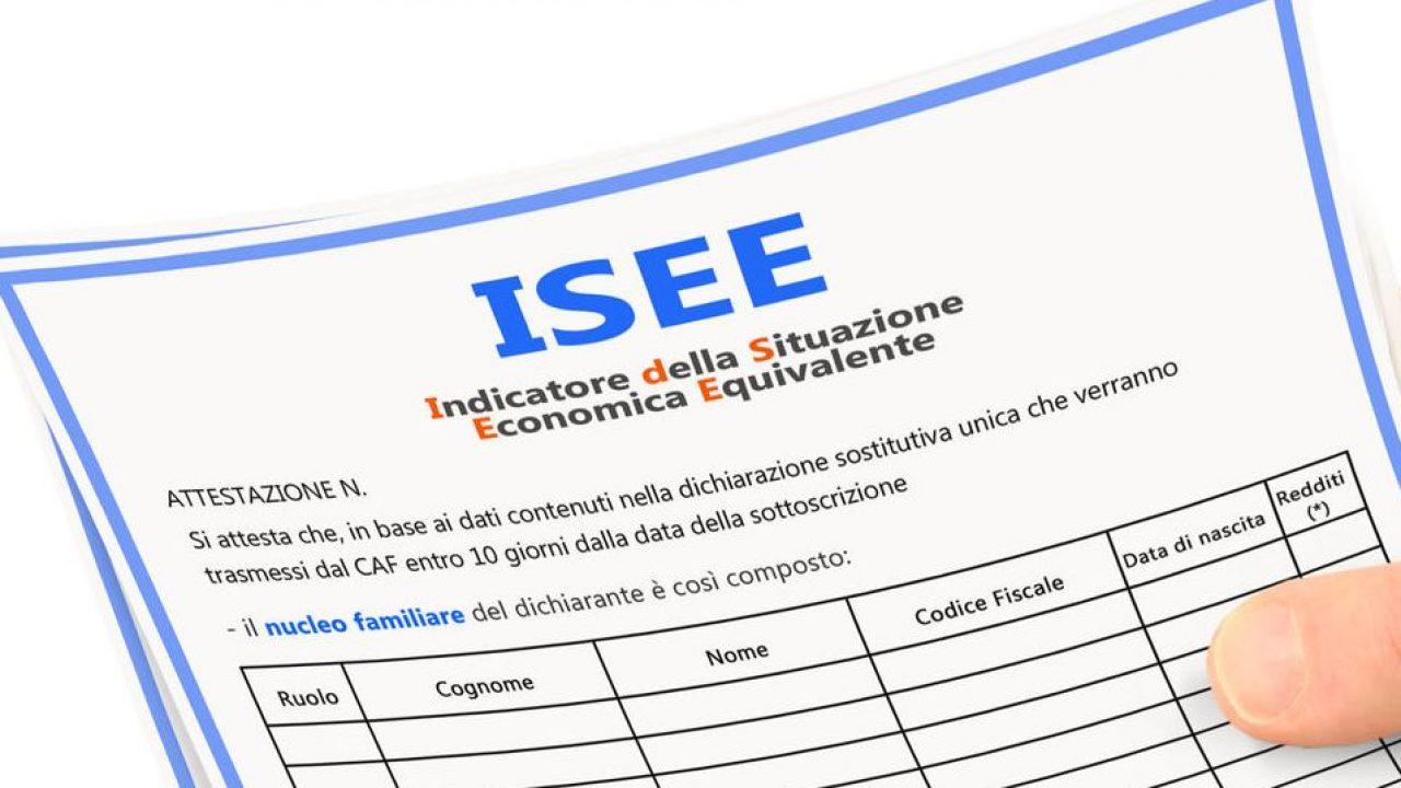 Modello ISEE corrente : chiarimenti